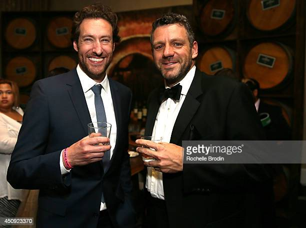 Phil Ashcroft and Ryan Craig attend afterparty for Absolut ELYX And The Glenlivet At The Critics Choice Television Awards at The Beverly Hilton Hotel...