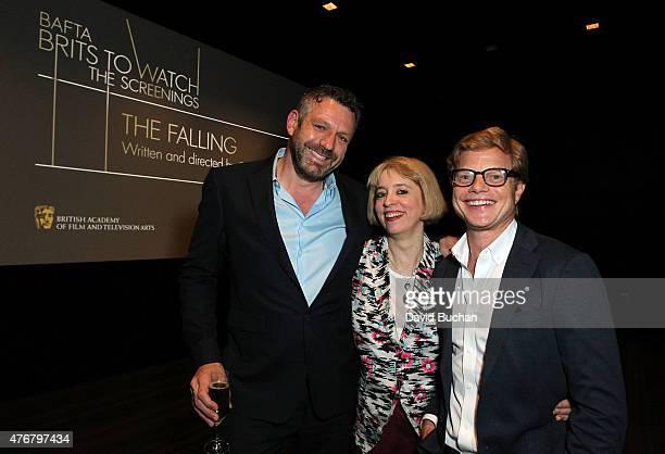 "Phil Ashcroft Bafta LA, Director Carol Morley and Producer Luke Roeg attend BAFTA LA Brits To Watch Screening of her film ""The Falling"" at The London..."