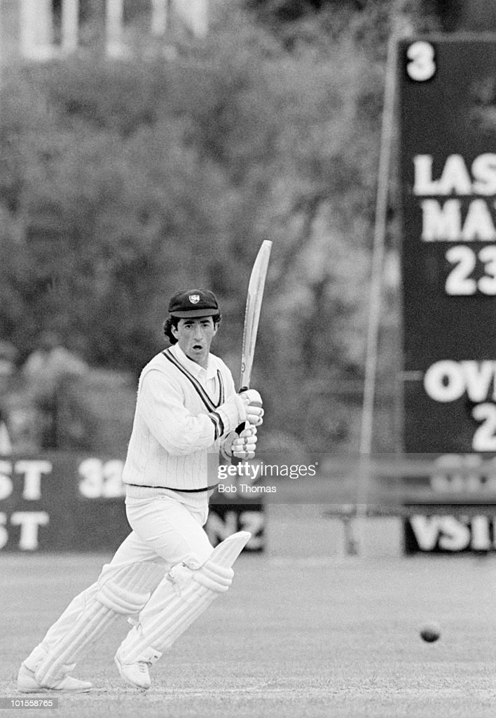 Phil Bainbridge of Gloucestershire during the Gloucestershire v India match played at Cheltenham on the 10th May 1986.