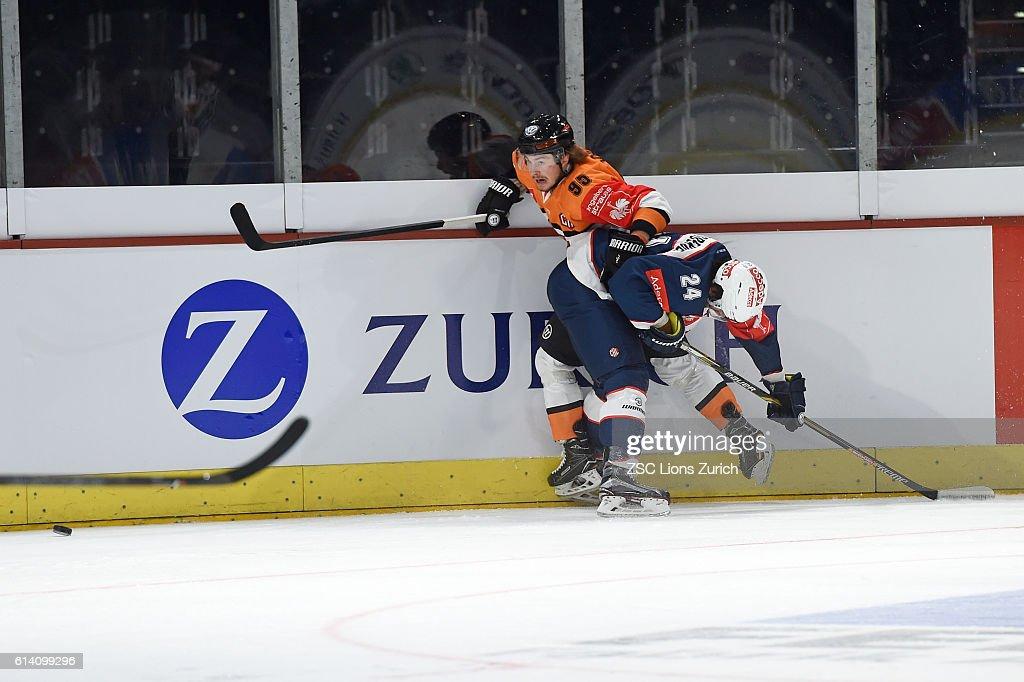 CHE: ZSC Lions Zurich v Grizzlys Wolfsburg - Champions Hockey League