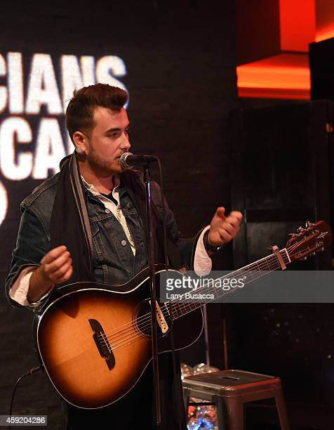Phil Barnes performs at Musicians On Call Celebrates Its 15th Anniversary Honoring Kelly Clarkson and EVP of Republic Records Charlie Walk on...