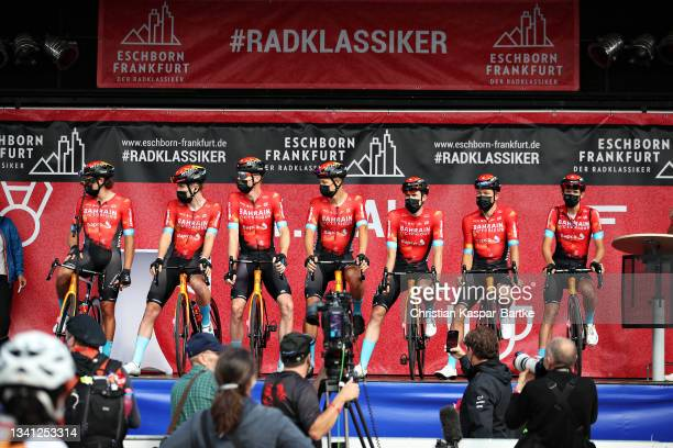Phil Bauhaus of Germany, Marco Haller of Austria, Heinrich Haussler of Australia, Jonathan Milan of Italy, Marcel Sieberg of Germany, Dylan Teuns of...