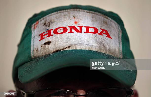 Phil Beckett speaks to waiting media as he leaves his shift at the Honda car assembly plant following the announcement that the firm is to axe 800...