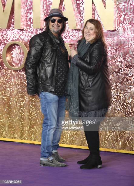 Phil Campbell attends the World Premiere of 'Bohemian Rhapsody' at The SSE Arena Wembley on October 23 2018 in London England
