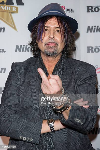 Phil Campbell of Motorhead attends the Classic Rock Roll of Honour at The Roundhouse on November 11 2015 in London England