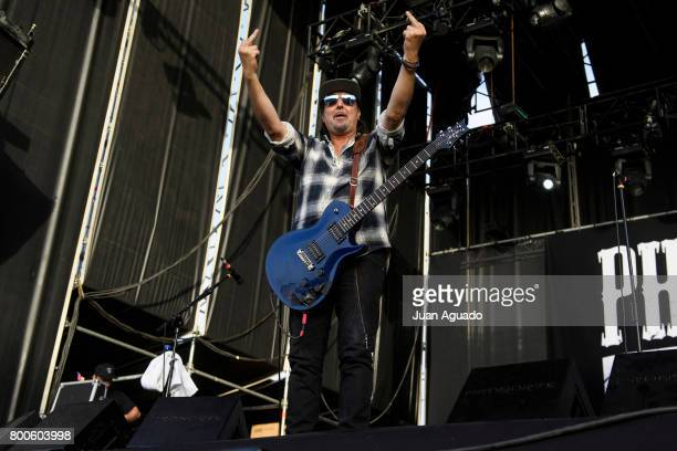 Phil Campbell of Phil Campbell and The Bastard Sons performs on stage at the Download Festival on June 24 2017 in Madrid Spain