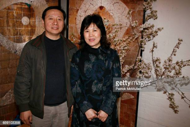 Phil Chen and Annie Liu attend GALLERY GEN hosts an art opening for YOSHIAKI YUKI at OpenHouse on April 10 2009 in New York City