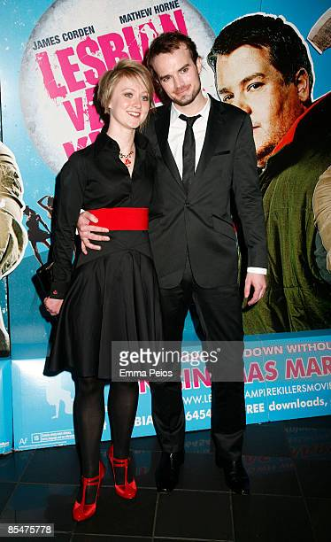 Phil Claydon and guest attendsthe VIP Screening of Lesbian Vampire Killers at Vue Cinema on March 17 2009 in London England