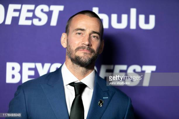 Phil CM Punk Brooks attends the Beyond Fest Premiere Of Girl On The Third Floorat the Egyptian Theatre on October 01 2019 in Hollywood California