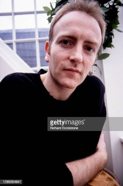 Phil Collen, English lead guitarist and member of rock band Def Leppard, 1996.
