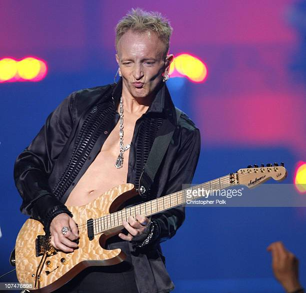 Phil Collen of Def Leppard during 2006 VH1 Rock Honors Show at Mandalay Bay Hotel and Casino in Las Vegas Nevada United States