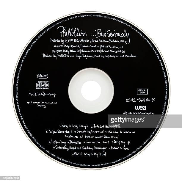 Phil Collins' 1989 CD 'But Seriously'