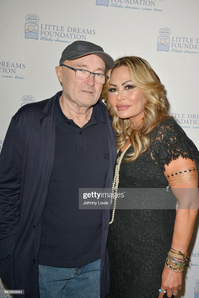 Phil Collins And Orianne Collins Announce The Little Dreams Foundation Gala : News Photo