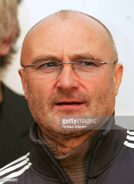 Phil Collins at the Mayfair Hotel in London United Kingdom
