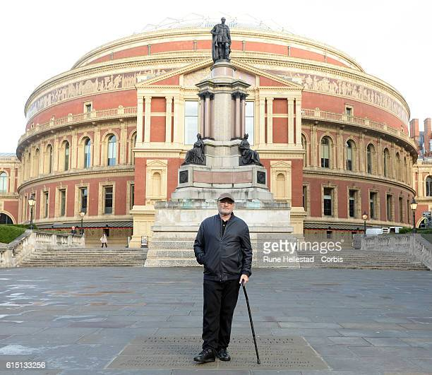 Phil Collins attends a photocall as he announces a series of gigs at Royal Albert Hall on October 17 2016 in London England