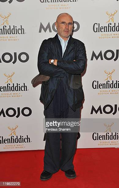 Phil Collins attends Glenfiddich Mojo Honours List at The Brewery on July 21 2011 in London England