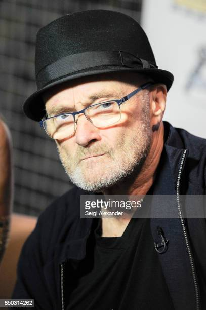 Phil Collins attends Little Dreams Foundation Music Auditions in Design District on September 20 2017 in Miami Florida