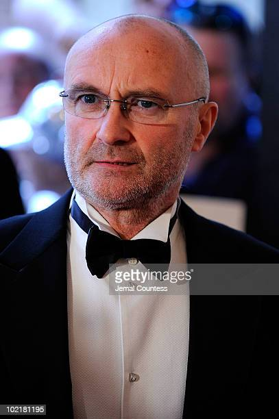 Phil Collins attends the 41st Annual Songwriters Hall of Fame Ceremony at The New York Marriott Marquis on June 17 2010 in New York City