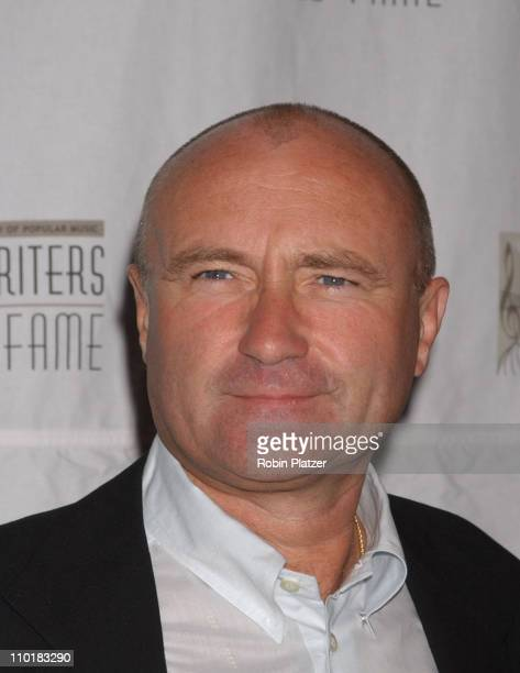Phil Collins during 2003 Songwriters Hall Of Fame Awards and Inductions at Marriot Marquis in New York City New York United States