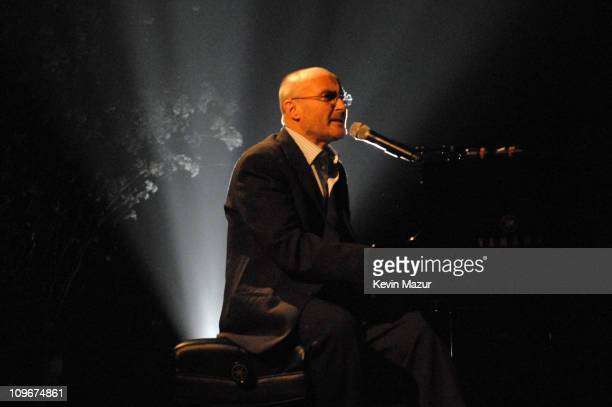 Phil Collins during Ahmet Ertegun Tribute Show at Rose Theater Jazz at Lincoln Center in New York City New York United States