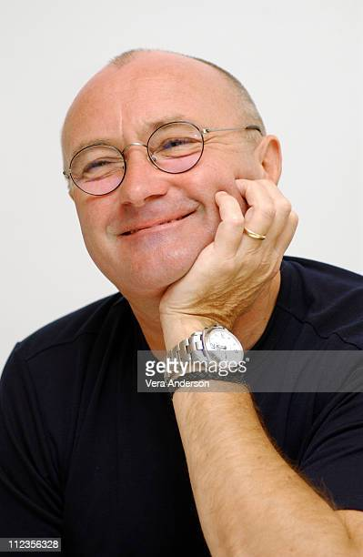 Phil Collins during 'Brother Bear' Press Conference with Phil Collins at The Four Seasons Hotel in Beverly Hills California United States