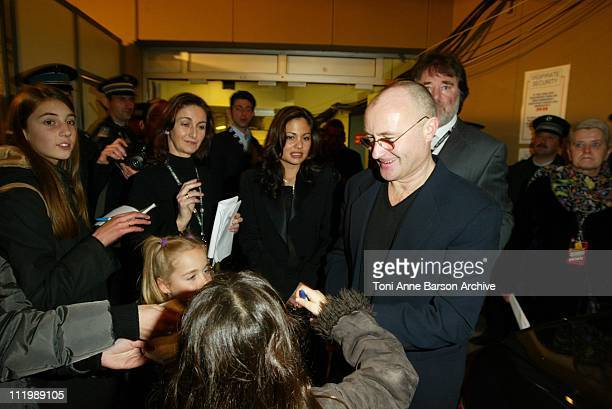 Phil Collins during NRJ Music Awards 2003 Cannes Back Door Entree des Artistes at Palais des Festivals in Cannes France