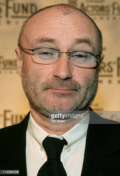 Phil Collins during The Actors' Fund 2006 Gala at Cipriani in New York City New York United States