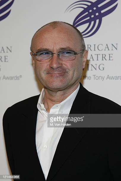 Phil Collins during 'The American Theatre Wing's Annual Spring Gala' honoring Matthew Broderick and Nathan Lane at Cipriani's at 42nd Street in New...