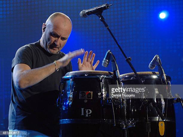 Phil Collins during The Andre Agassi Charitable Foundation's 11th Annual Grand Slam for Children Fundraiser Show at MGM Grand Garden Arena in Las...