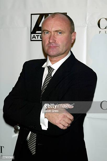 Phil Collins during the City of Hope Gala at Cipriani's on 42nd St in New York City November 13 2002 Photo by Scott Gries/Getty Images
