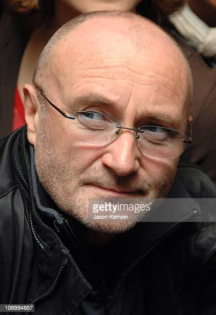 Phil Collins during The GRAMMY Foundation and Phil Collins Introduce 'GRAMMY Soundchecks' On Broadway November 3 2006 at Richard Rodgers Theatre in...