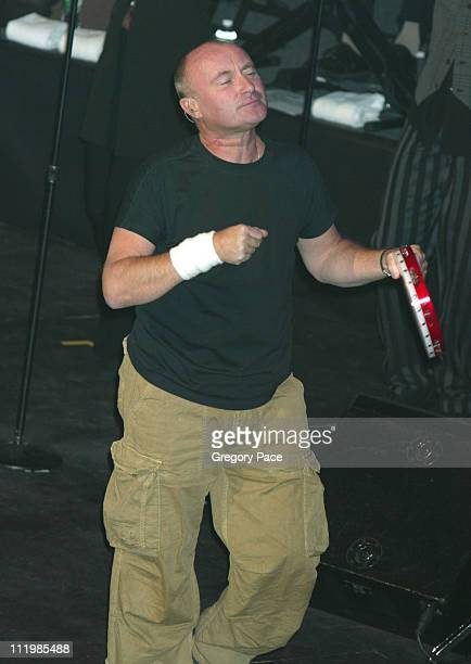 Phil Collins during Walt Disney Pictures' 'Brother Bear' New York Premiere and After Party at New Amsterdam Theater and Roseland in New York City New...