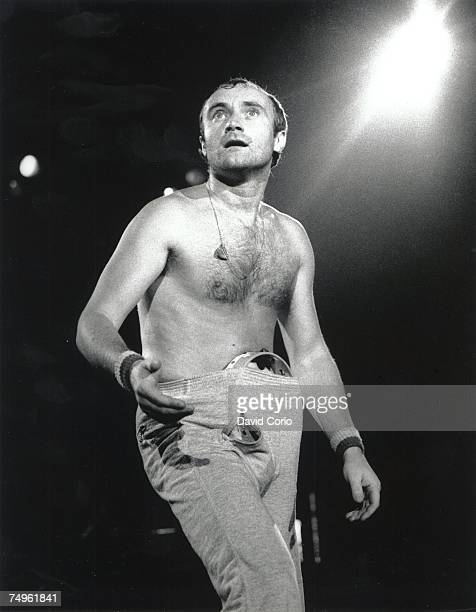 Phil Collins of Genesis performing on October 17 1981 in Cologne Germany