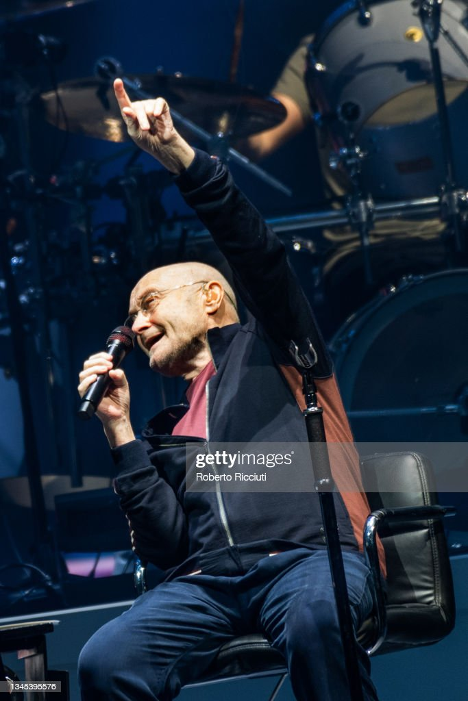 Genesis Perform At The The SSE Hydro, Glasgow : News Photo