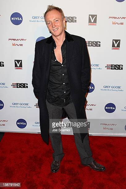 Phil Collins of the band Def Leopard arrives at the 6th Annual Primary Wave Music PreGrammy Party at SLS Hotel on February 11 2012 in Beverly Hills...
