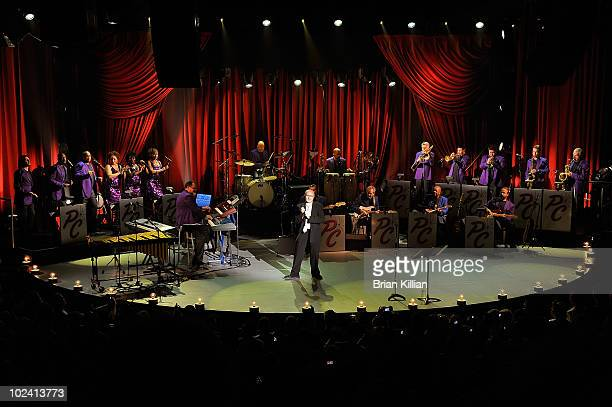 Phil Collins performs in concert at the Roseland Ballroom on June 23 2010 in New York City