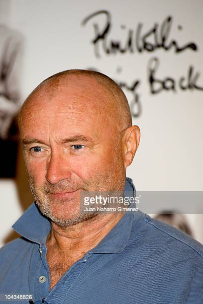 Phil Collins presents his new album 'Going Back' at Hotel Palace on September 22 2010 in Madrid Spain
