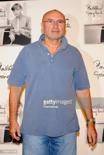 Phil Collins presents his new album 'Going Back' at the Palace Hotel on September 22 2010 in Madrid Spain