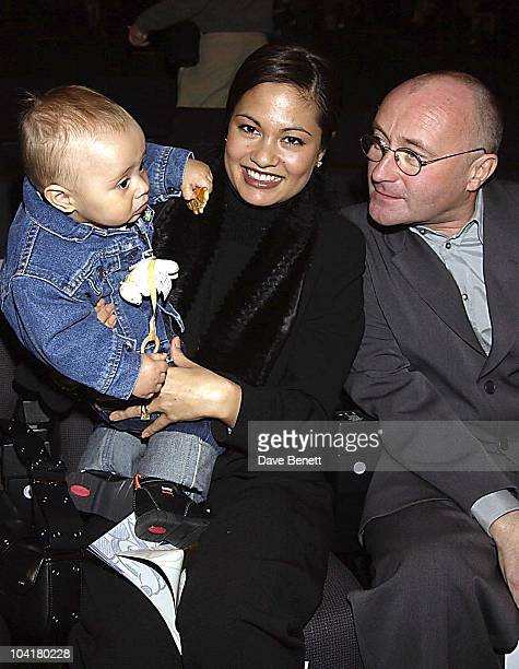 Phil Collins With Wife Oriane And Son Nicholas Disneyland Resort Paris's Tenth Birthday Celebrations And The Launch Of Their New Walt Disney Studios...