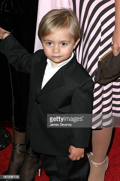Phil Collins's son Nicholas during Brother Bear New York Premiere at New Amsterdam Theatre in New York City New York United States