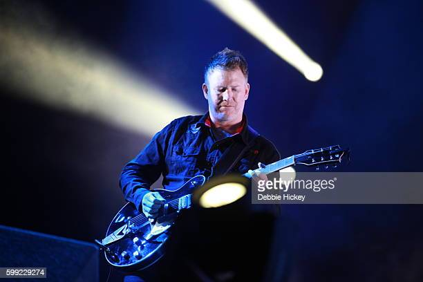Phil Cunningham of New Order performs at Electric Picnic Festival at Stradbally Hall Estate on September 4 2016 in Laois Ireland