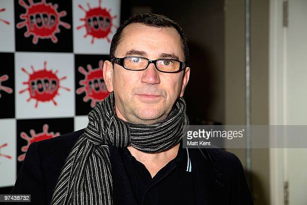 Phil Daniels attends a photocall ahead of his book signing for his debut autobiography Class Actor at Fopp London on March 4 2010 in London England