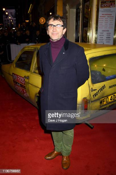 Phil Daniels attends the opening night of Only Fools and Horses The Musical at Theatre Royal Haymarket on February 19 2019 in London England