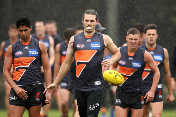 AUS: GWS Giants Media Opportunity & Training Session