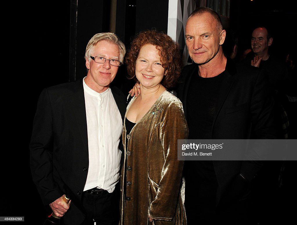 Phil Davis, wife and Sting attends an after party following the Moet British Independent Film Awards 2013 at Old Billingsgate Market on December 8, 2013 in London, England.