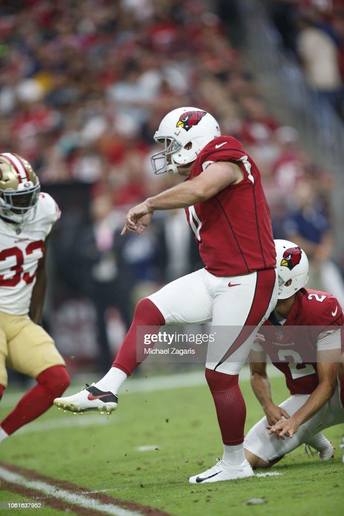 San Francisco 49ers v Arizona Cardinals : Fotografia de notícias