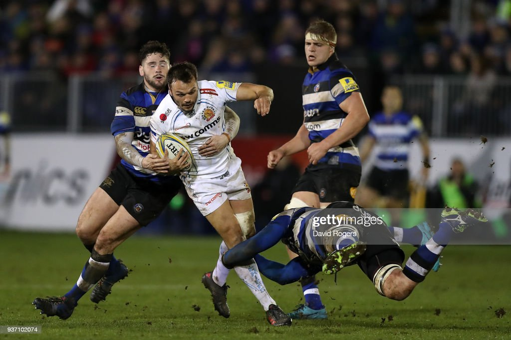 Bath Rugby v Exeter Chiefs - Aviva Premiership