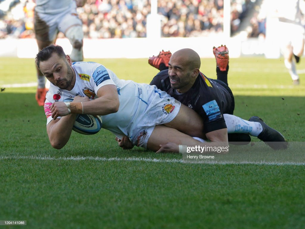 Harlequins v Exeter Chiefs - Gallagher Premiership Rugby : News Photo