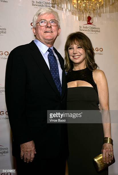 Phil Donahue and actress Marlo Thomas attend the 2nd Annual Runway for Life celebrity fashion show benefiting St Jude Children's Research Hospital...