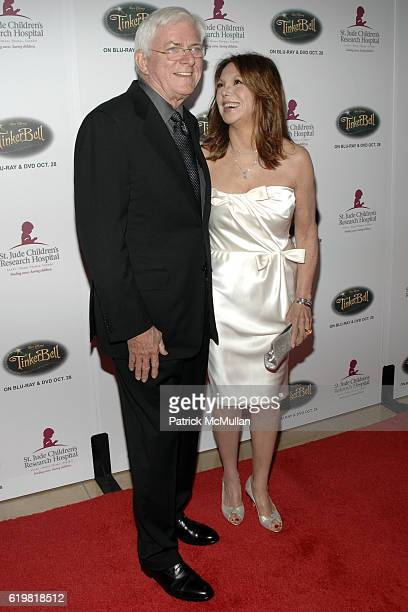 Phil Donahue and Marlo Thomas attend St Jude Children's Research Hospital Runway for Life Gala at The Beverly Hilton on October 11 2008 in Beverly...